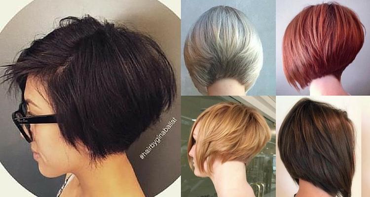 Hairstyles For Short Hair Graduated Bob : Bob Haircuts for Fine Hair, Long and Short Bob Hairstyles on TRHs