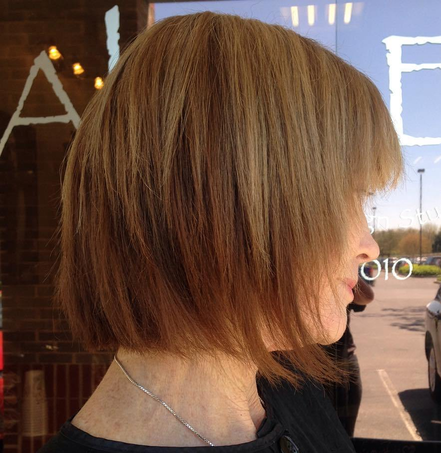 Layered Bob Haircut