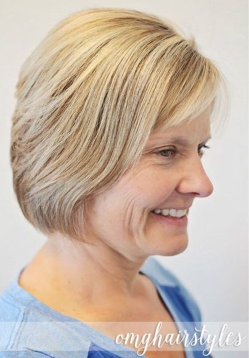 traditional style with short hair