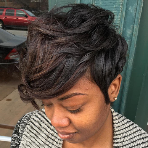 African Hair Cuts For Ladies 20 Stunning Looks With Pixie Cut For Round Face
