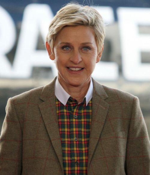 Ellen Degeneres Natural Hair Color