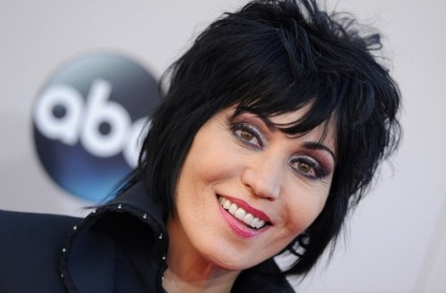 Joan Jett short hairstyle for women over 50