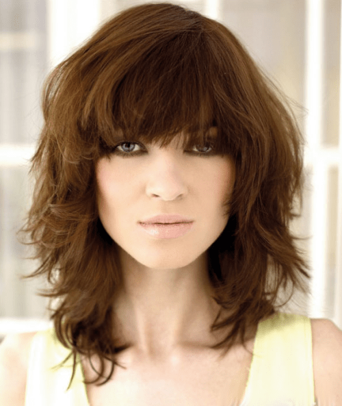 5 Peachy Curly Shag Haircuts For Short Medium Amp Long Curls
