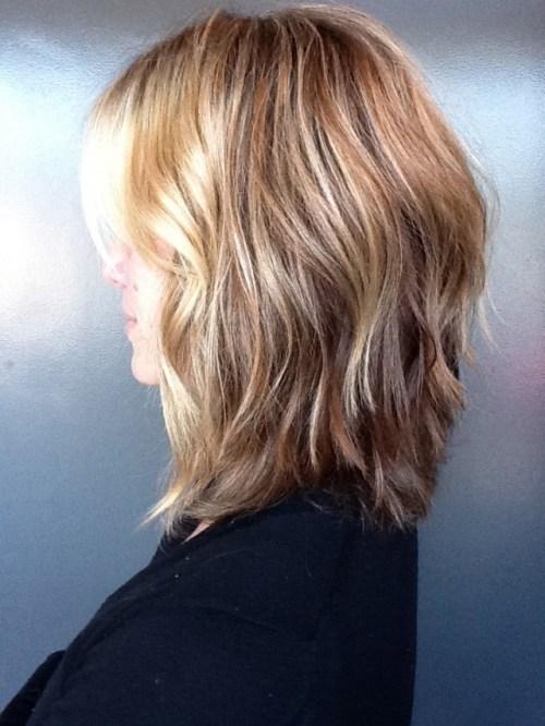Pics Of Med Shag Haircuts Front Amp Back