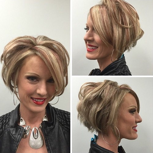 Bob Hairstyle For Mature Women