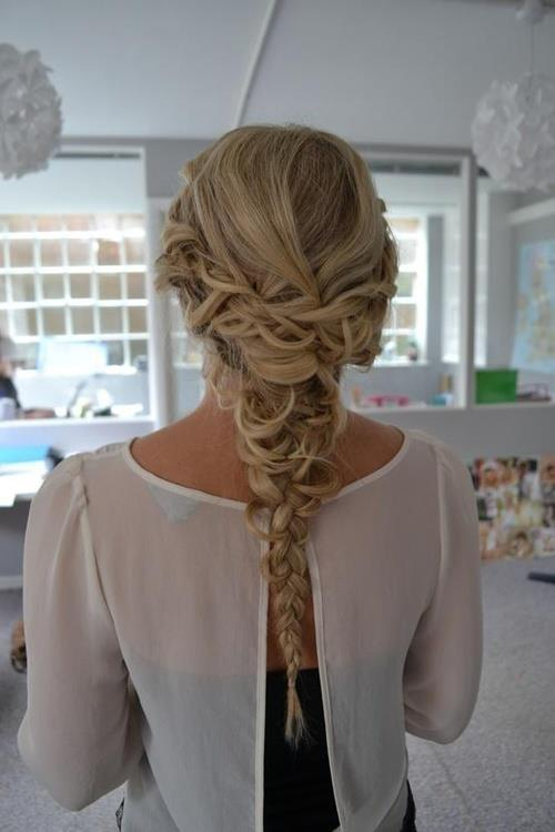 braided hairstyle for homecoming