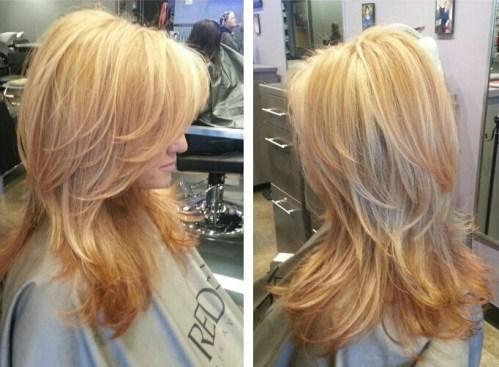 golden blonde and strawberry blonde