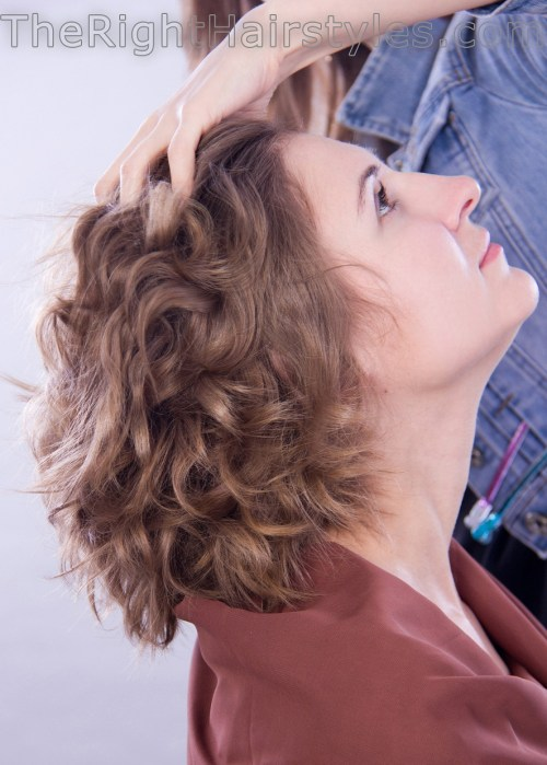 how to tousle curls