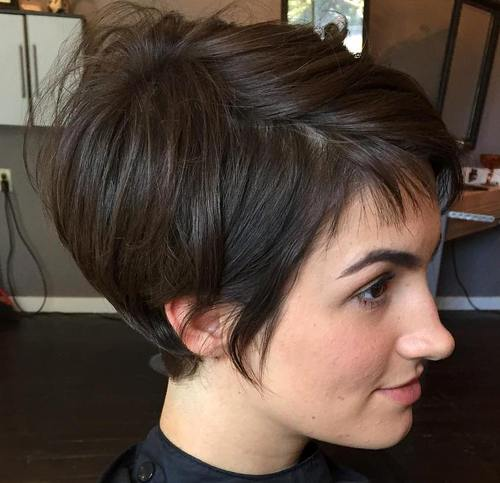 35 Trendiest Short Brown Hairstyles And Haircuts To Try ...