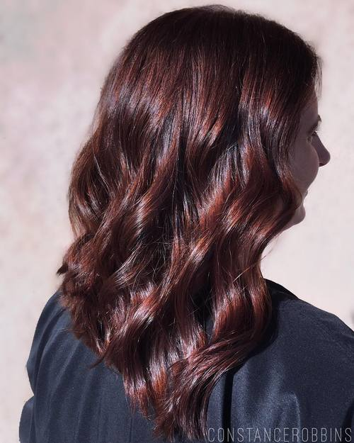 Mahogany Brown Hair Color