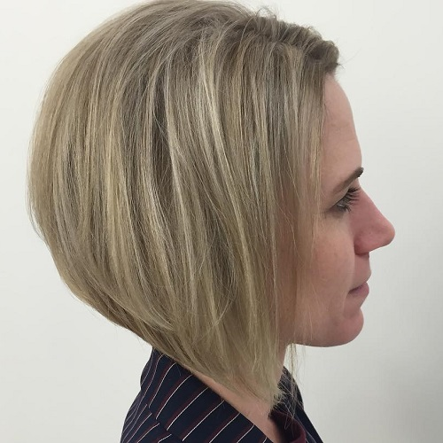Inverted Bob Straight Hairstyle