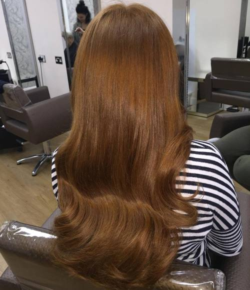 Caramel Balayage On Straight Hair 40 Red Hair Color Ideas – Bright And Light Red Amber