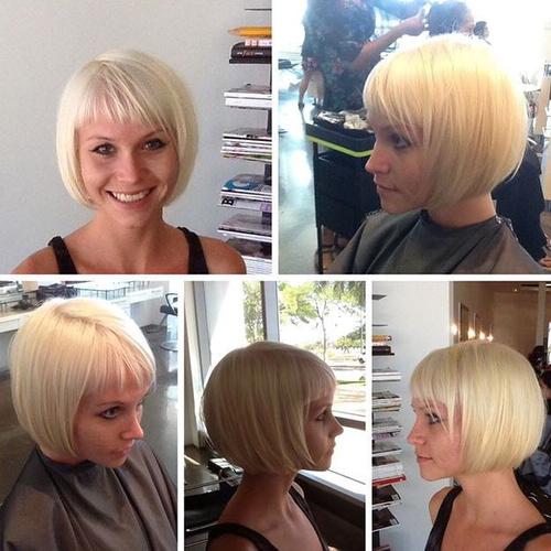 blonde bob for girls