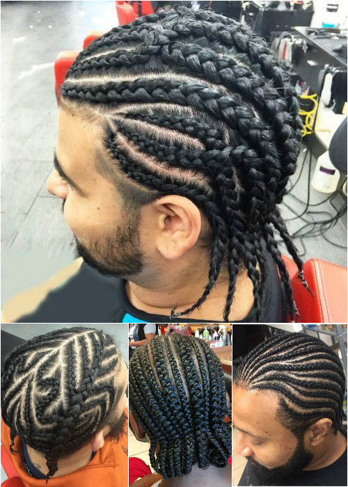 mens cornrows