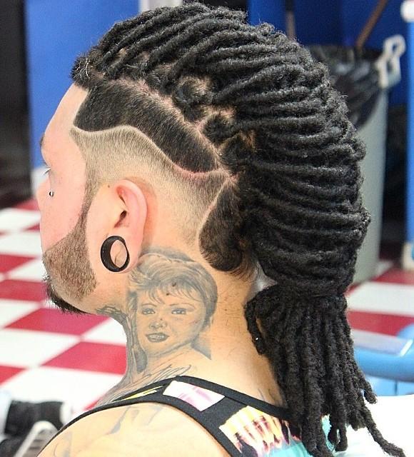 statement hairstyles men