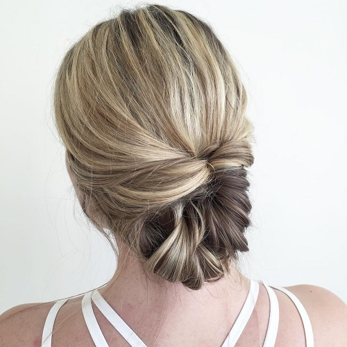 Chignon Updo Hairstyle