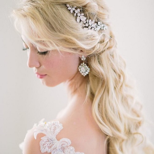 half up half down wedding hairstyles � 50 stylish ideas