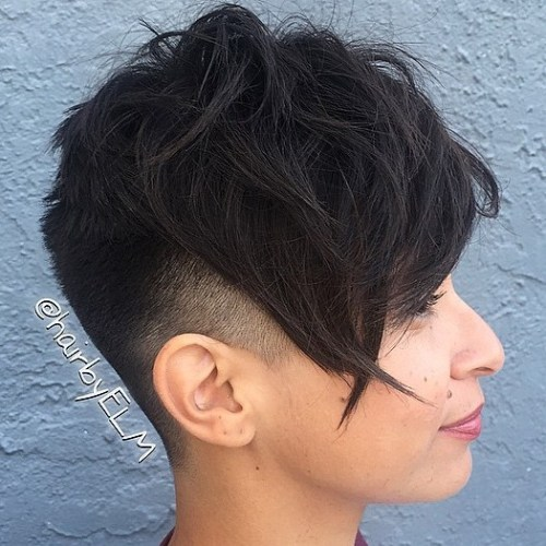 Faded Undercut Pixie