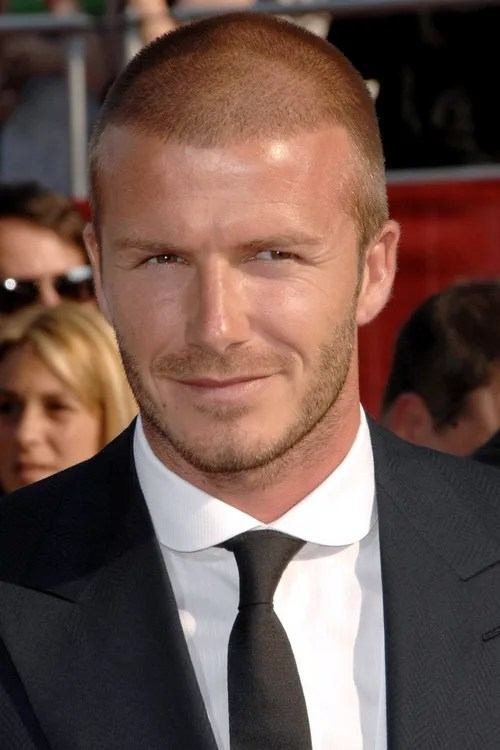 David Beckham crecut