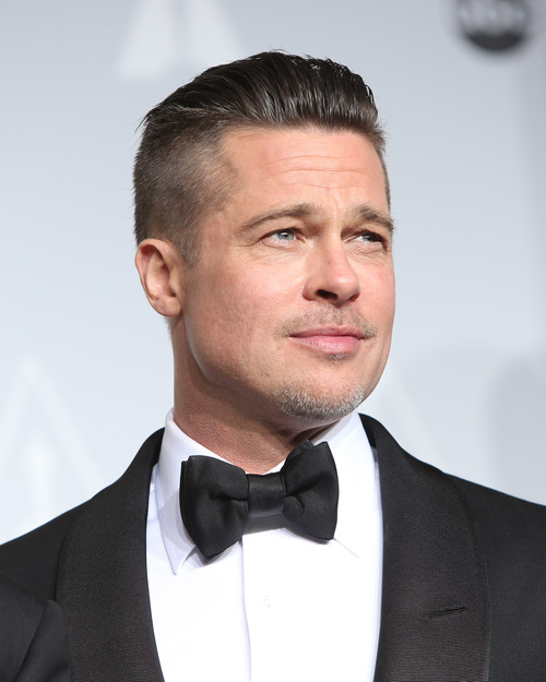 Brad Pitt Undercut