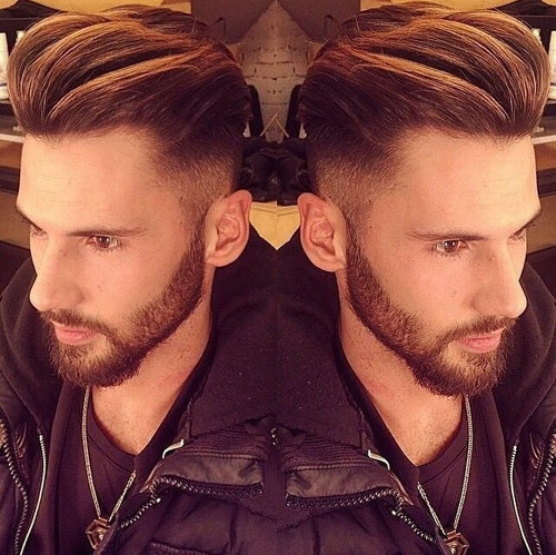 hipster undercut hairstyle for men