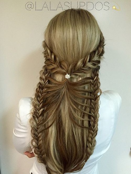 Pleasing 45 Fabulous Half Updos New Styling Ideas Hairstyle Inspiration Daily Dogsangcom