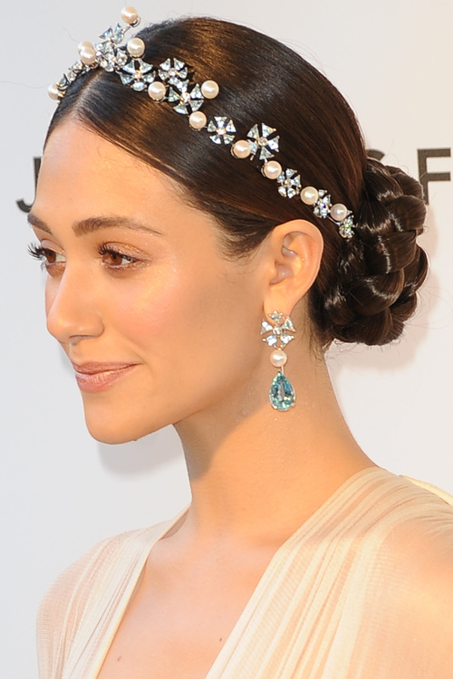 formal braided bun hairstyle