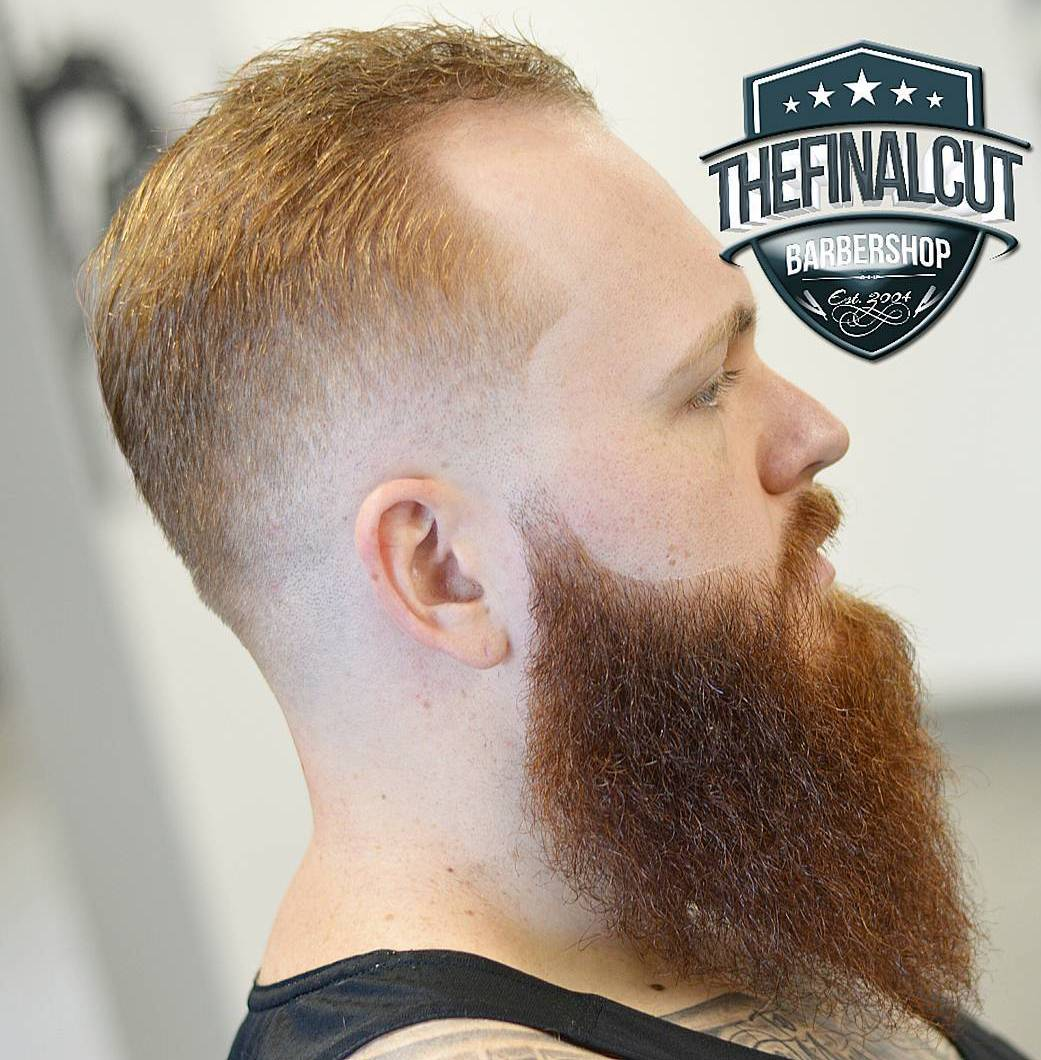 Burst Fade And Long Beard