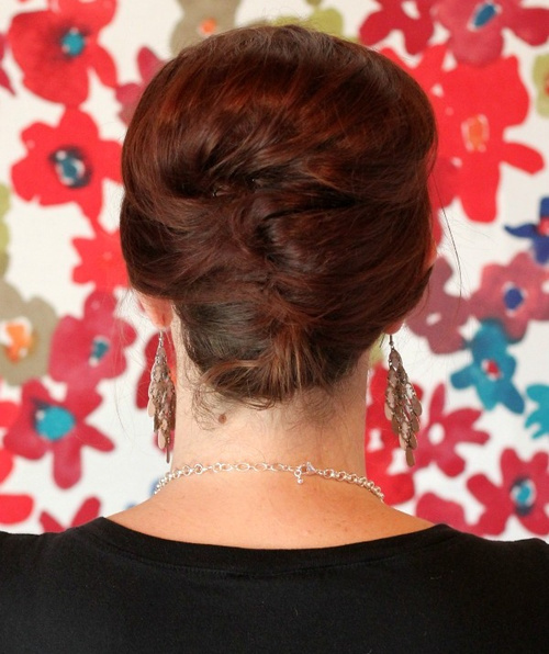 Hair style fashion easy french twist updo solutioingenieria Images