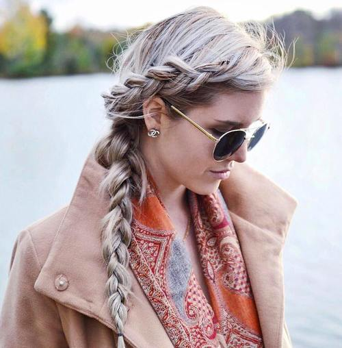 bohemian side braid perfect everyday hairstyle from my 10 trendy messy braid bun updos popular haircuts easy braid ideas braided updo tutorial prom wedding hairstyle for medium google profiles beautiful side braid ideas about side french braids on pinterest just a casual french twist for class jasmine ann the hair tutorial double braided.