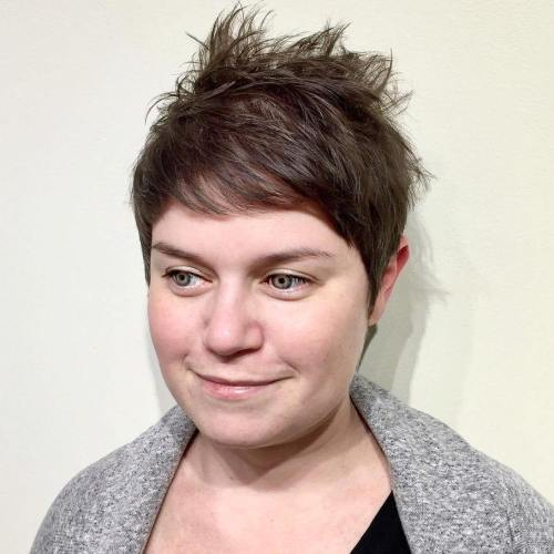 Messy Spiky Pixie Hairstyle