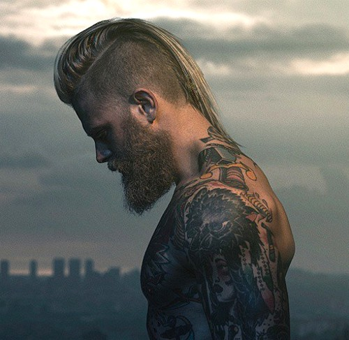 mens hairstyles picture gallery of wild and extreme mens