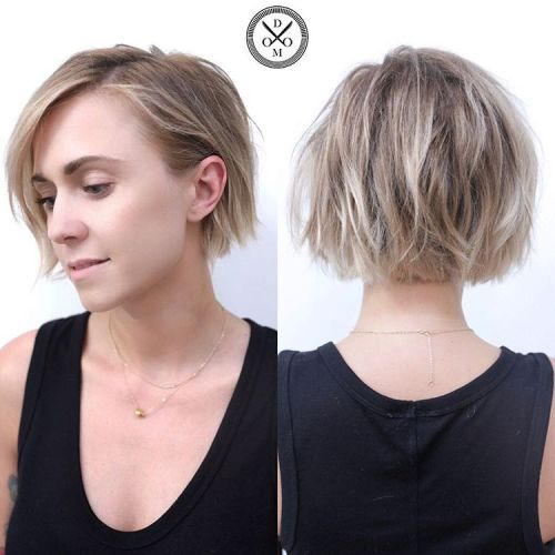 Choppy Bob For Fine Hair
