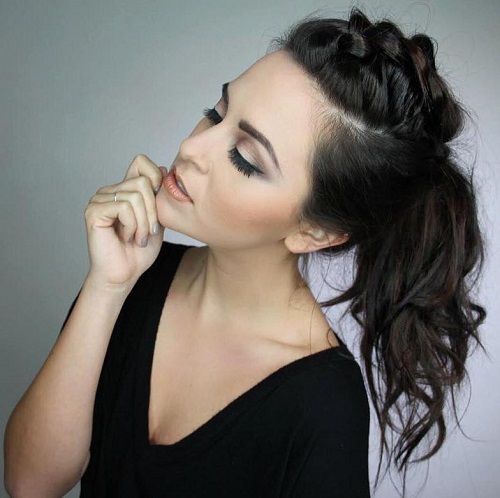 35 Super Simple Messy Ponytail Hairstyles
