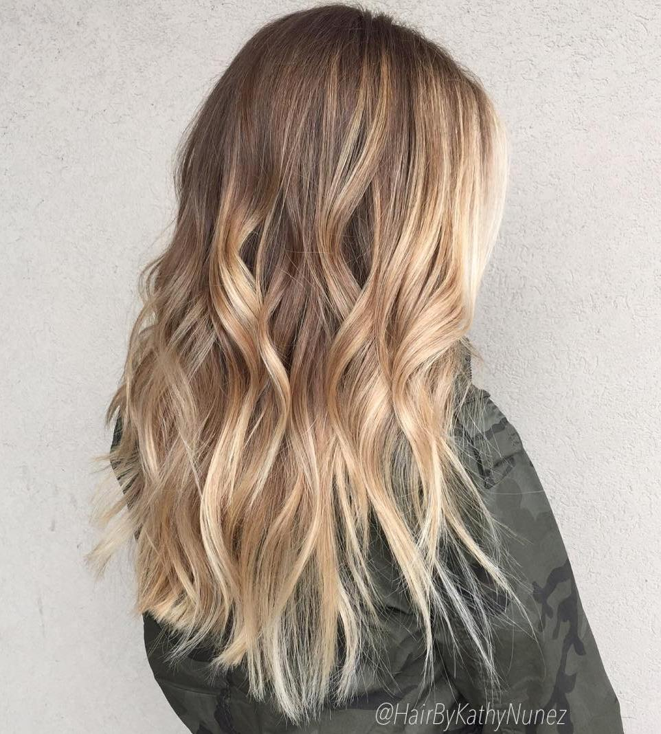 Beautiful Blonde Balayage Looks