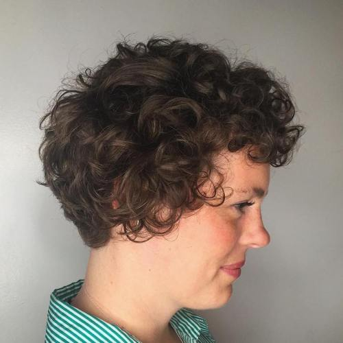Short Haircut For Curly Hair