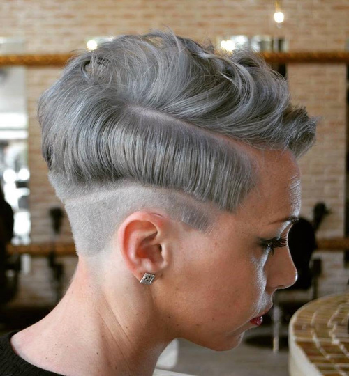 Pixie With Side And Nape Undercut