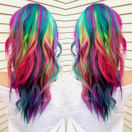rainbow hair join