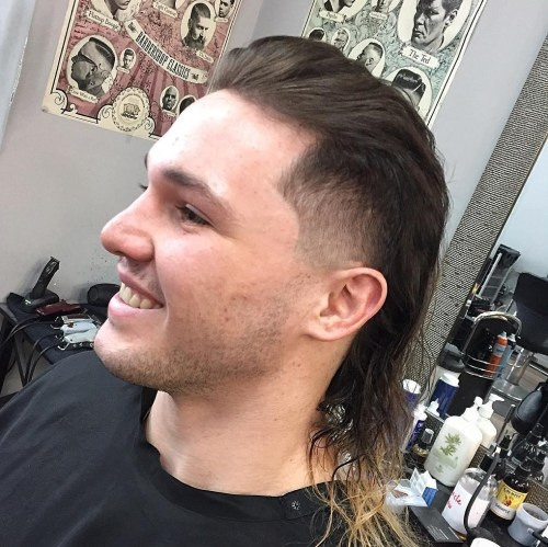Long haircut styles for guys