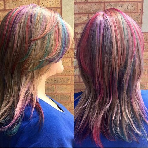 20 Sensational Pastel Hair Colors In Every Shade Of Rainbow