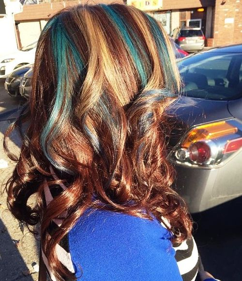 Ombre Hair Technique Step By Step 20 Best Hair Color Ideas In The World Of Chunky Highlights