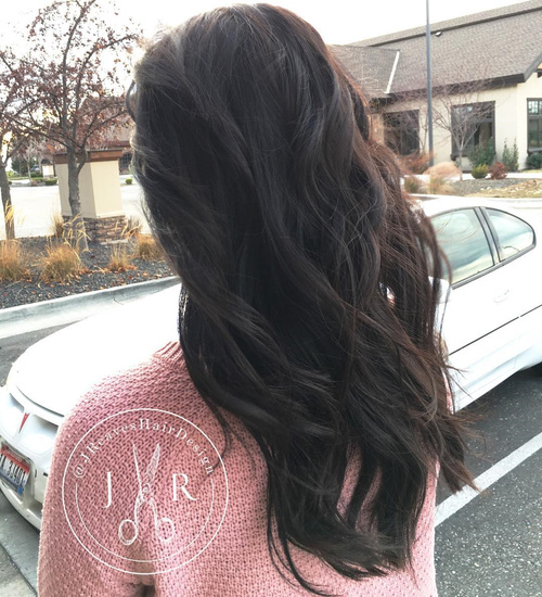 v cut hairstyles