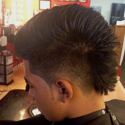 faded mohawks awesome