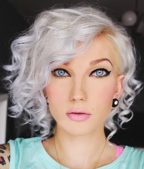 20 Adorable Ash Blonde Hairstyles To Try Hair Color Ideas: 40 Hair Сolor Ideas With White And Platinum Blonde Hair