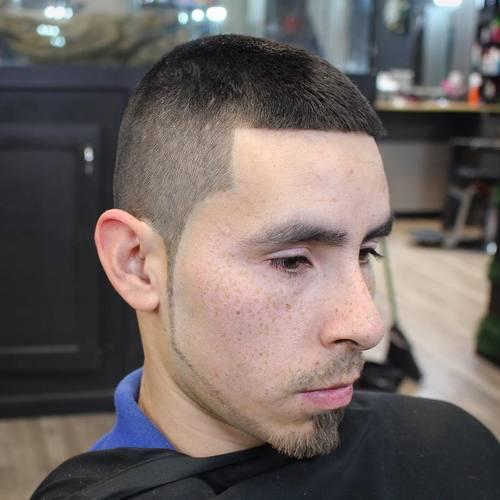 extra short Caesar Haircut