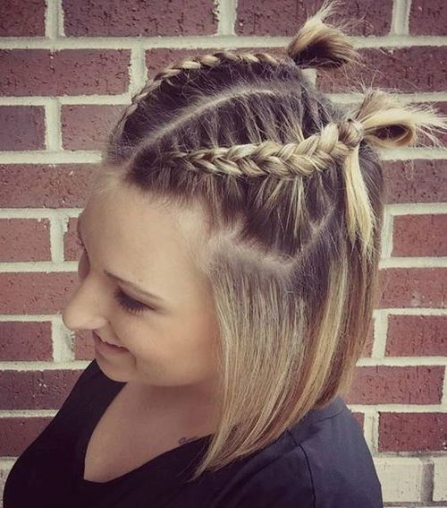 half hairstyles : 20 Stylish Low Maintenance Haircuts and Hairstyles