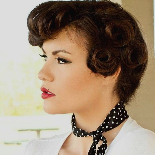 Excellent SHORT BLONDE HAIRSTYLES Pin Up Hairstyles