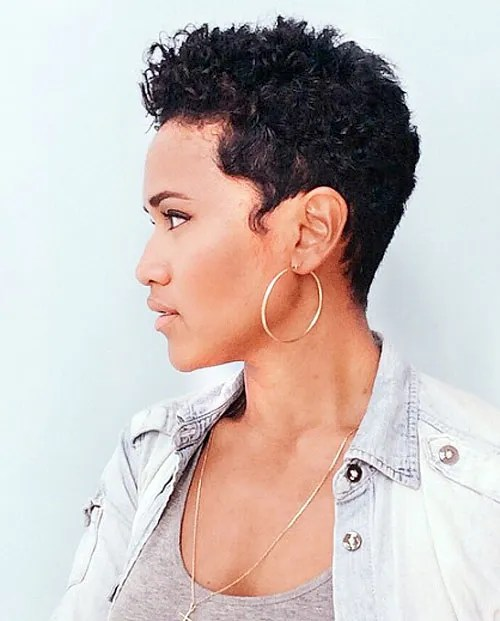 20 Sassy And Sexy Black Pixie Cuts