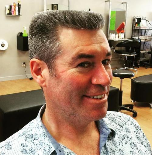 men's flat top haircut