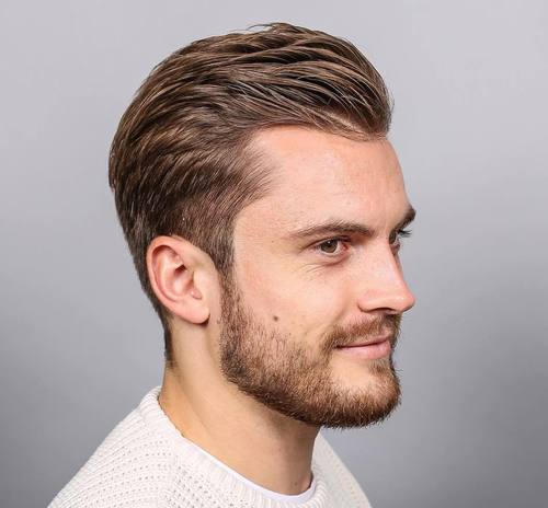 Boy Haircuts No Gel 40 Best Haircuts For A Receding Hairline The Right
